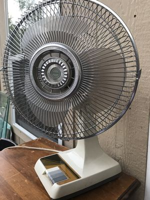 """12"""" Vintage Oscillating Fan $29 for Sale in Euless, TX"""