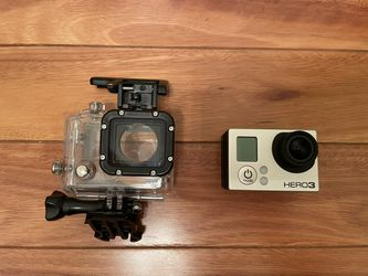 Go Pro Hero 3 With Waterproof Case PLUS Touch Screen Attached To The Back for Sale in San Jose,  CA