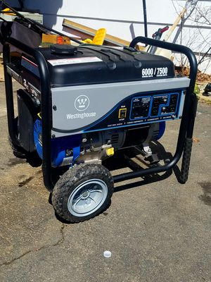 Heavy-Duty Westinghouse WH6000S Portable Generator for Sale in Fairfax, VA