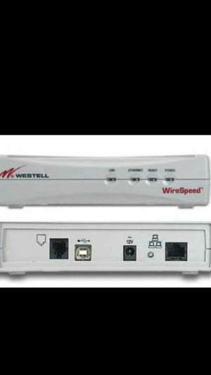 Westell WireSpeed 2200 DSL Modem with Router Functionality for Sale in Rancho Cucamonga, CA