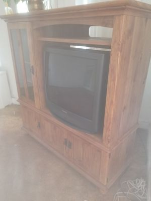 Entertainment Center / including TV for Sale in Pittsburgh, PA