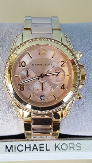 New Authentic Michael Kors Women's TwoTone Watch for Sale in Commerce, CA