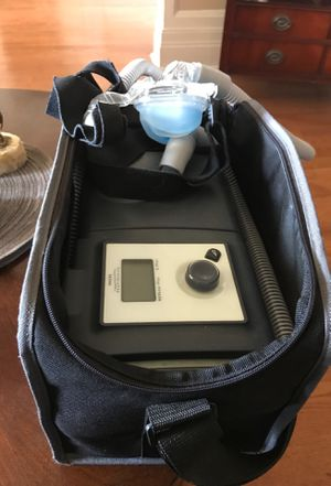 CPAP machine. With carrying case for Sale in Pomona, CA
