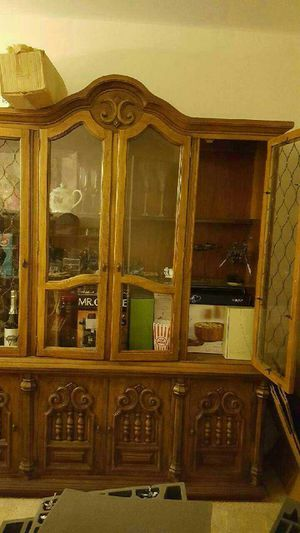 Antique China cabinet. make an offer. for Sale in Oak Forest, IL