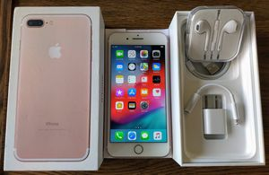 Iphone 7 Plus (128GB) Factory-UNLOCKED (Like-New) Rose Gold for Sale in Falls Church, VA