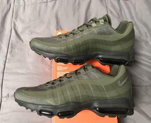 Nike air max 95 Ultra essential Military Green mens size 9 running shoes NEW DS Sample! for Sale in San Diego, CA