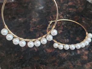 Large hoop earrings for Sale in Monrovia, CA