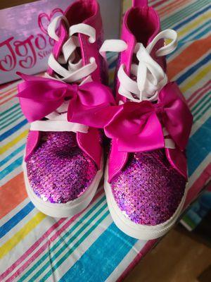 Jojo Siwa shoes size 4 for Sale in Conroe, TX