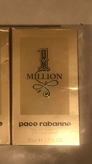 1 million 1.7 perfume /brand new for Sale in LAKE CLARKE, FL