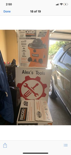 Ridgid 12 gallon vacuum for Sale in Riverside, CA