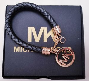 MK Saffiano braided leather adjustable bracelet for Sale in Sterling, VA