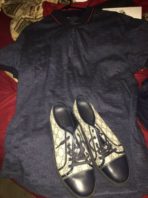 Gucci shirt and sneakers for Sale in Tampa, FL