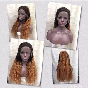 OMBRÉ KINKY CURLY LACE FRONTAL WIG for Sale in Hollywood, FL