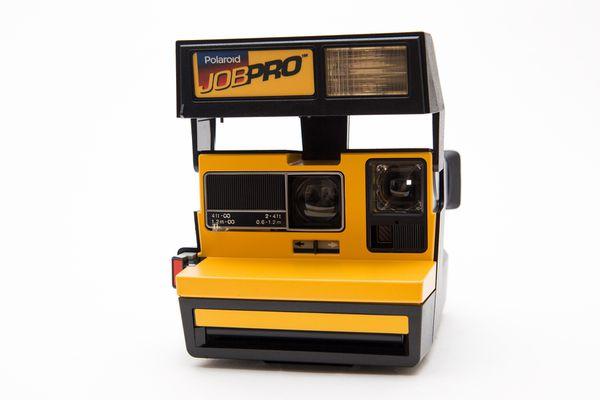 Polaroid Job Pro 600 Instant Film Camera!