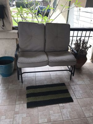 Bench glider porch swing with cushions for Sale in City of Industry, CA