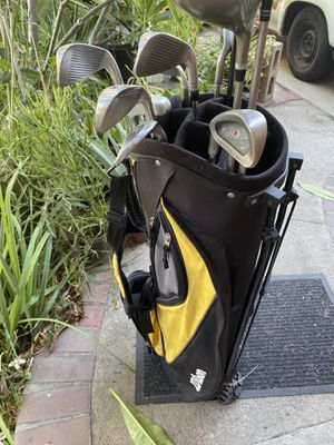 Left handed golf club set with that for Sale in Cerritos, CA