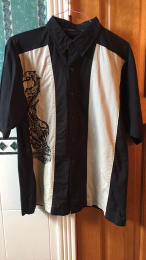 Harley Davidson shirt. Size L. Great Condition. for Sale in Peoria, IL