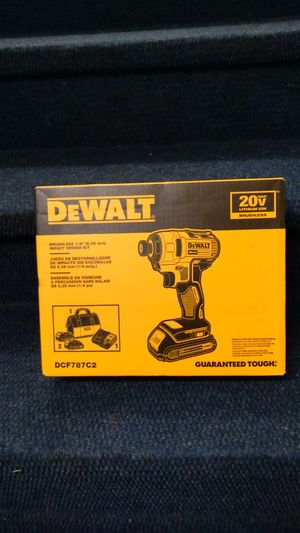 Dewalt brushless impact driver kit for Sale in Seattle, WA