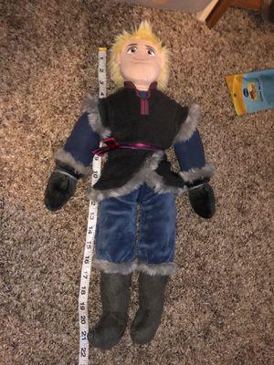 "Rare! Jumbo Disney Frozen Kristoff plush doll 22"" tall! for Sale in Phoenix, AZ"