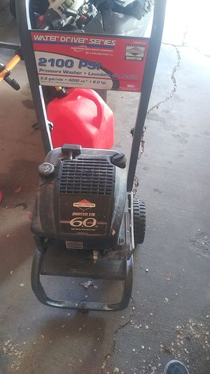 2100 pai pressure washer for Sale in Salt Lake City, UT