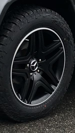 20in Mercedes g class rims and tires for Sale in Lowell, MA