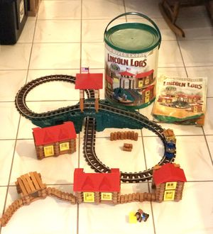 Toy Lincoln logs for Sale in Port Charlotte, FL
