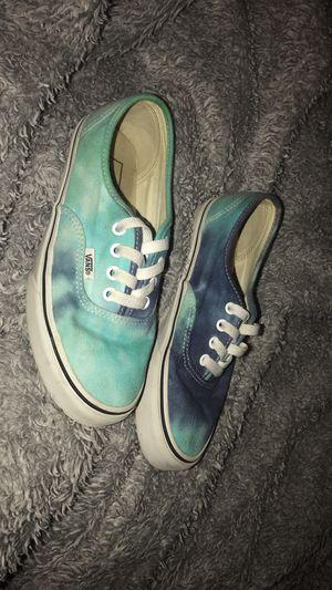 Vans blue tie dye women's for Sale in Fort Smith, AR