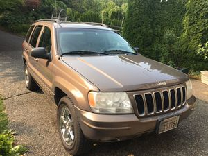 2002 Jeep Grand Cherokee 8 cylinder, HO 4wd with hitch and sunroof for Sale in Snohomish, WA