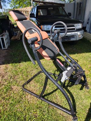Inversion table . Works well. for Sale in Blakely, GA