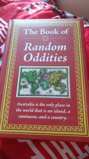 The Book Of Random Oddities for Sale in Kingsport, TN