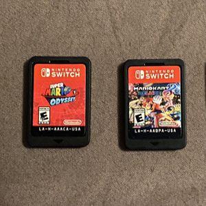Mario Kart, Mario Odyssey And Amiibo Figures For Nintendo Switch for Sale in Phoenix, AZ