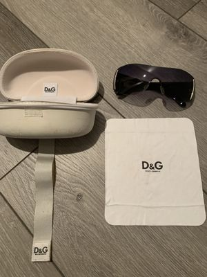 Genuine Dolce & Gabbana (D&G) sunglasses with case $40 for Sale in Kirkland, WA
