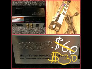 Monster Power Home Theatre Powercenter for Sale in Ontario, CA