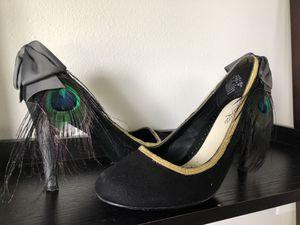 Custom peacock heels-size 9 for Sale in Shoreline, WA