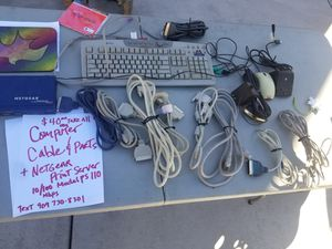 Computer parts and cables for Sale in Moreno Valley, CA