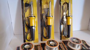 3 Soldering Irons 3 core wire set for Sale in Stanton, CA