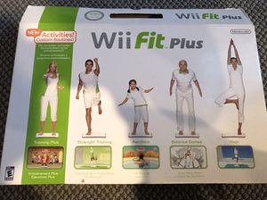 Wii fit plus for Sale in Herndon, VA