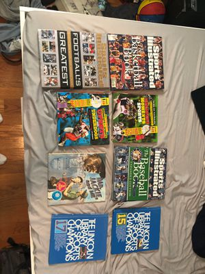 Lot Of Sports Books for Sale in Evansville, IN