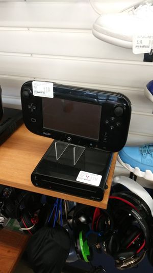 Nintendo wii u black for Sale in Indianapolis, IN
