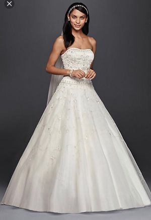 Ivory wedding dress size 4 for Sale in Fort Lauderdale, FL