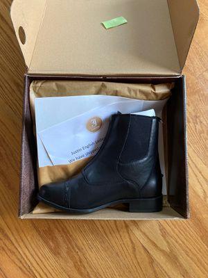 Justin ladies half boots for Sale in Virginia Beach, VA