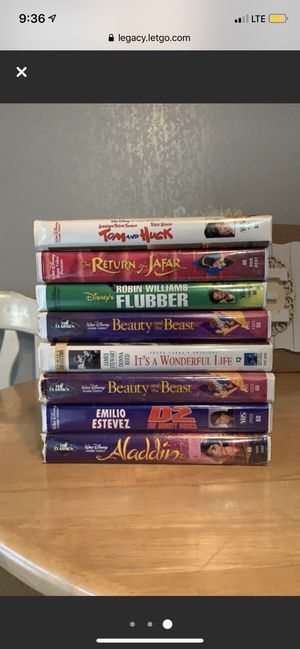 16 VHS MOVIES ALL FOR $15 for Sale in Toledo, OH