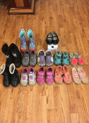 Kids shoe lot Size 9 Little Kid for Sale in Boonsboro, MD