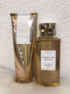 🌟💖⭐️ BATH AND BODY WORKS SET ⭐️💖🌟 TWINKLING NIGHTS 💛 for Sale in Miami, FL