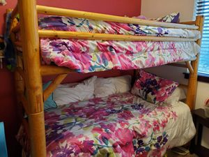 Free real wood bunk beds for Sale in Lynnwood, WA