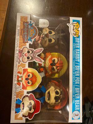 New. Funko pop Disney splash mountain 3 pack for Sale in Whittier, CA