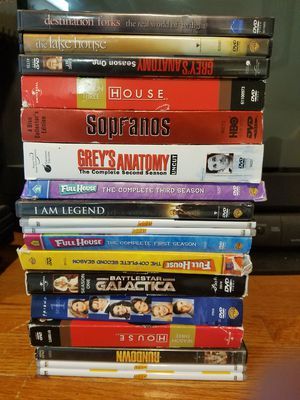 Misc TV show seasons & Movie Dvds. Sopranos, Full House, House, Grey's Anatomy, Seinfeld for Sale in Batavia, IL