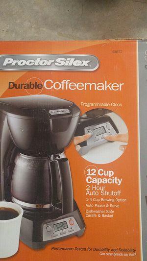 ProctorSilex coffee maker for Sale in Ashburn, VA