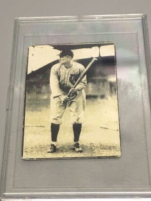 Authentic Ty Cobb Tigers baseball card $550 obo for Sale in Riverside, IL