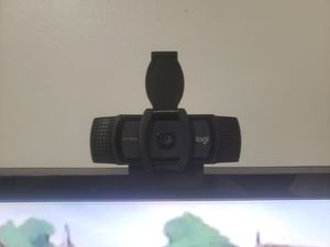 Logitech c920S HD webcam with privacy shutter for Sale in Shoreline, WA